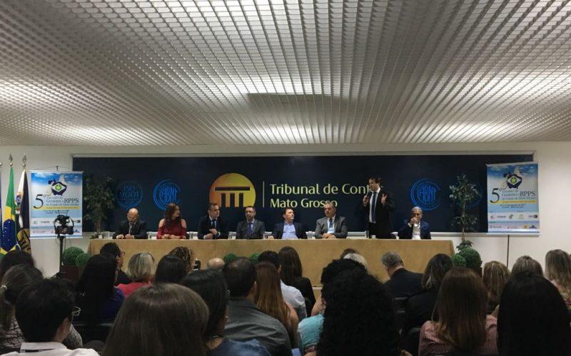 IMPRO participa de 5º Encontro de RPPS no TCE-MT