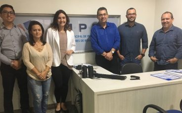 Presidente da Apremat visita IMPRO e declara apoio ao processo eleitoral do Instituto