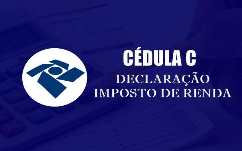 Imposto de Renda 2019 | Cédula C está disponível no site do IMPRO