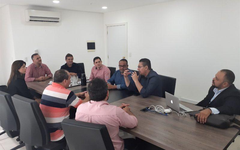 Diretoria do IMPRO visita MT Prev e conhece sistema de aposentadoria digital