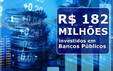 IMPRO investe R$ 182 milhões em bancos públicos