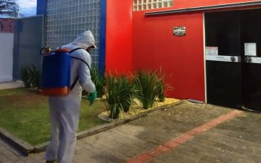 Prédio do IMPRO é sanitizado pela terceira vez