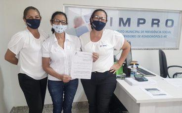 Uma das servidoras mais respeitadas do município entra para família IMPRO