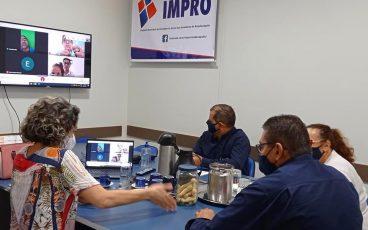 Evolução do patrimônio líquido do IMPRO nos últimos 12 meses é de 10,51%
